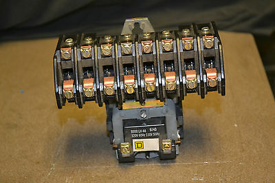 SQUARE D 8903LO1000 Lighting Contactor 120v coil