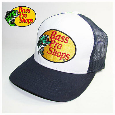 Bass Pro Shops Navy Mesh Trucker Hat, Cap