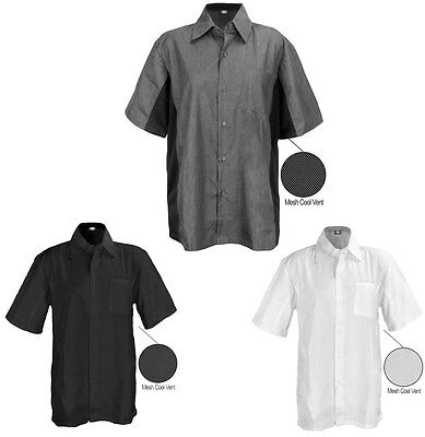 Dickies Work Shirts Short Sleeve Shirt with Cool Vent Panel Under Sleeve DC128