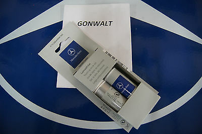 Mercedes Benz Genuine 2 part Touch Up Paint Iridium Silver Silber Met 9775 775