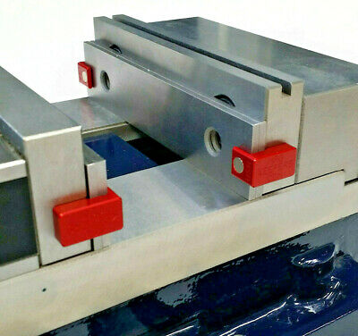 """Magkeepers Red DUEL magnet, 1/8"""" Parallel Magnetic Holders, Keepers, Vise, CNC"""