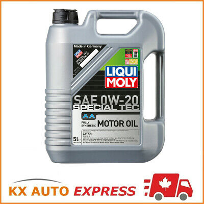 Liqui Moly Special Tec AA SAE 0W-20 Fully Synthetic Premium-Class Engine Oil 5L