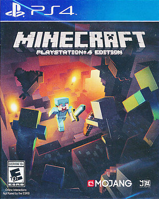 Minecraft Playstation 4 Edition - PS4 Game - BRAND NEW SEALED