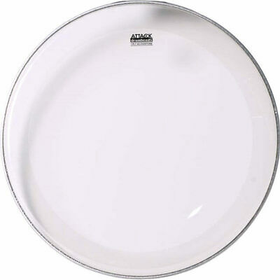 Attack USA 22 inch Clear No Overtone Bass Drum Head