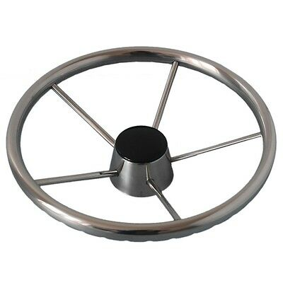 Yacht Marine Ship Stainless Steel Steering Wheel