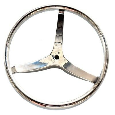 Stainless Steel Ship Steering Wheel Yacht Marine 13.5""