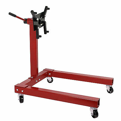 A Heavy Duty Swivel Transmission Gearbox Engine Support Stand 1250 lbs 570kg