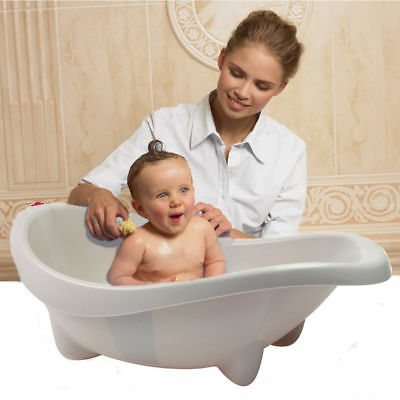 New Ok Baby Laguna Baby Bath Taupe With Easy To Read Thermometer