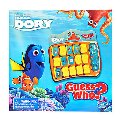 Finding Dory Guess Who Game // Official Licensed Product // Hasbro Disney Pixar