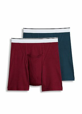 Jockey Mens Pouch Boxer Brief 2 Pack Underwear Boxer Briefs cotton blends