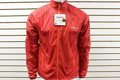 Men's Marmot Wind Resistant DriClime Stride Jacket Team Red 50740 New With  Tag
