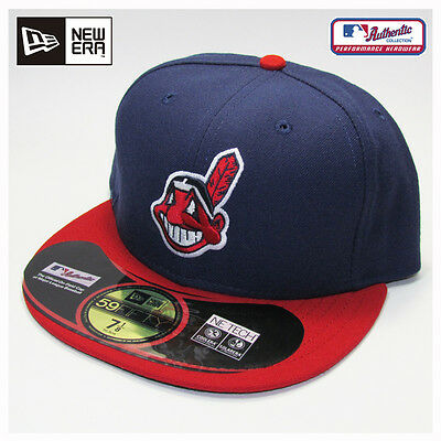 Cleveland Indians MLB Authentic Collection New Era Home Cap, Hat