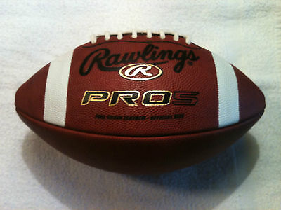 Rawlings PRO5 Official Size Leather Football (Aired-up)