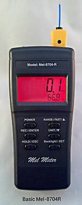 Mel-8704R EMF, Temperature, & Flashlight in One Handheld For Ghost Hunting