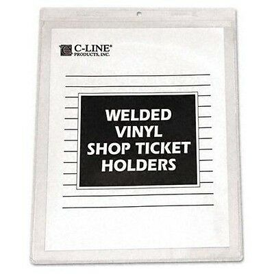 "(Bx/50) Shop Ticket Holder, C-Line 80912 9""x12"" (103162)"