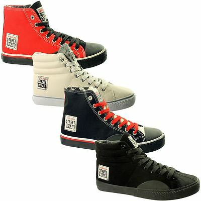 Vision StreetWear Hi~Mens Boots~Trainers~Hi-Tops~UK 7 - 12 Only