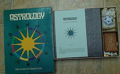 VINTAGE 1972 RARE ASTROLOGY THE GAME OF PREDICTION BOARD GAME! Great 4 Halloween