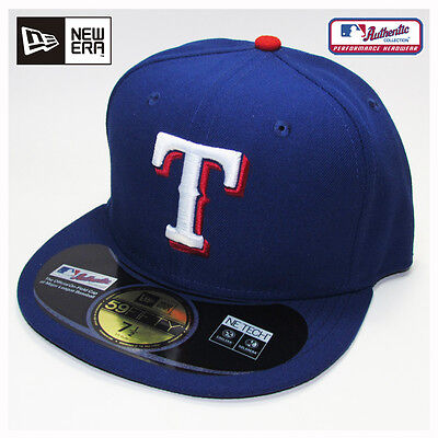 Texas Rangers MLB Authentic Collection New Era Game Cap, Hat
