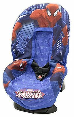 Baby Kid Car Cover Seat Marvel Spiderman Toddler Child Infant Polyester Keep