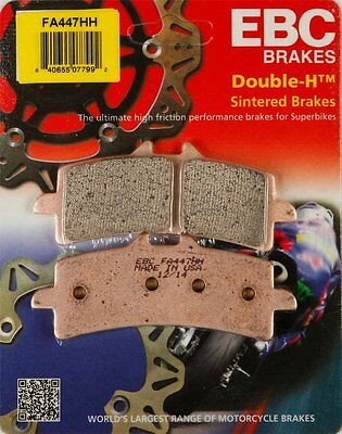 EBC Double-H Sintered Front Brake Pads Single Set For Ducati Suzuki FA447HH