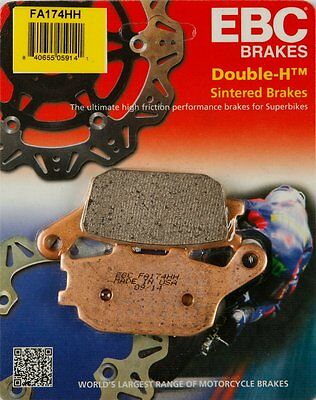 EBC Double-H Sintered Rear Brake Pads Single Set For Suzuki Yamaha FA174HH