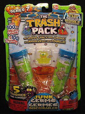 The Trash Pack Series 7 - Junk Germs 5 Trashies - Ringworm Rover