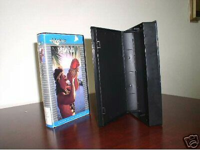 100 New Black Vhs  Case Video Libary Case W/sleeve