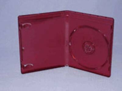 100 New 12Mm Top Quality Burgundy Red Hd Dvd Case, No Logo Bl9