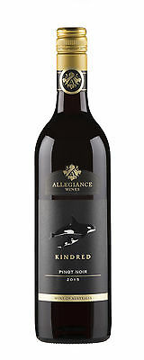12 X Allegiance Wines Kindred Pinot Noir 2014