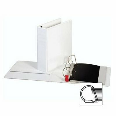 "Sparco Locking D-Ring View Binder,3 ""Capacity,11""x8-1/2"",White (SPR26961)"