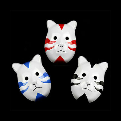 Anime Naruto ANBU Ninja Mask Cool Party Halloween Cosplay Costume Fancy Dress