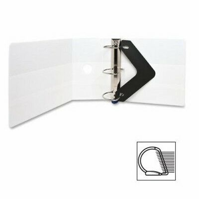"Sparco Locking D-Ring View Binder,5 ""Capacity,11""x8-1/2"",White (SPR26965)"