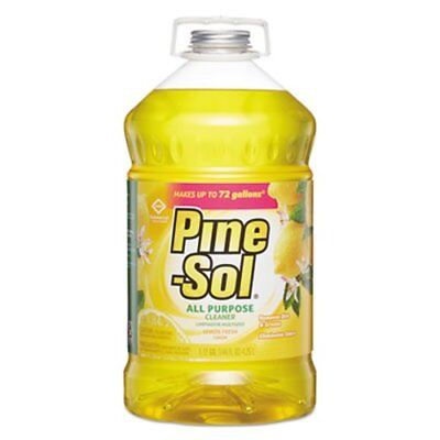 Pine-Sol 35419 All-Purpose Cleaner, Lemon Scent, 144-oz. Bottle (CLO35419EA)
