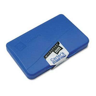 Carter's Micropore Stamp Pad, 4 1/4 x 2 3/4, Blue (AVE21261)