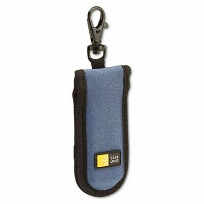 Case Logic USB Drive Shuttle, Holds 2 USB Drives, Blue (CLGJDS2BBK)