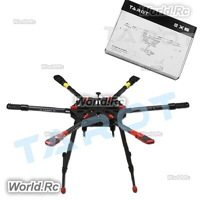 TAROT X6 HEXACOPTER Frame Kit Folding Arm w/ Electronic Landing Gear ...