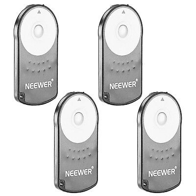 Neewer 4 Pack IR Wireless RC-6 Remote Control for Canon EOS 500D 550D