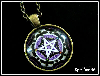 SPELL-INFUSED Witches PROTECTION Medallion NECKLACE 99% Accurate FOR NEGATIVITY