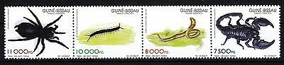 Guinea Bissau 1997  Toxical Insects  Strip Of 4   Mnh **  Rare !
