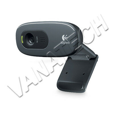 WEBCAM LOGITECH C270 HD NP 960-001063 WEBCAM PER PC 3MP 1280x720 USB 2.0 720p