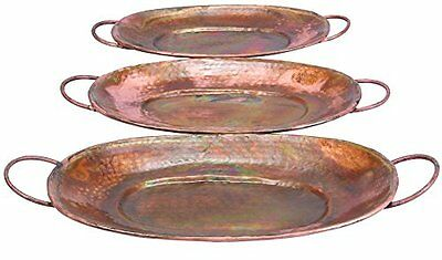 Deco 79 32924 Metal Tray- 27 by 24 by 22-Inch NEW