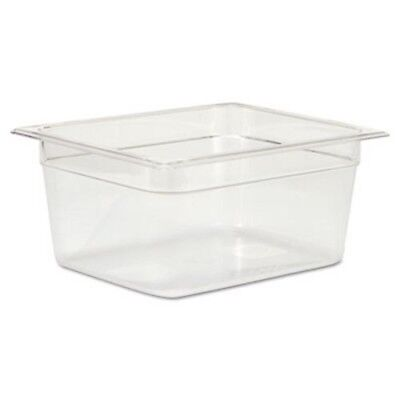 Rubbermaid 125P 1/2 Size Clear Cold Food Pan, Each (RCP125PCLE)