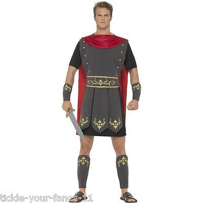Men's Roman Gladiator Fancy Dress Costume Legends Greek & Myths Stag Night Fun