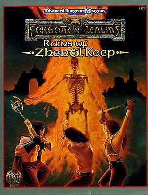 RUINS OF ZHENTIL KEEP SEALED Forgotten Realms Box Set Dungeons Dragons Module