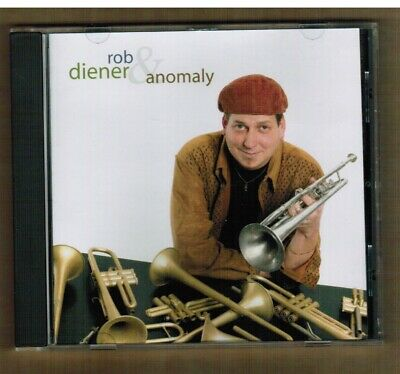 ROB DIENER & ANOMALY Some Assembly Required CD 2006 Jazz Fusion MINT