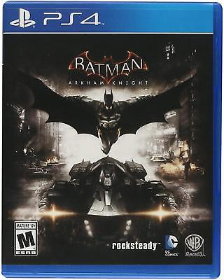 Ps4 Batman: Arkham Knight (Sony PlayStation 4, 2015)  Brand New