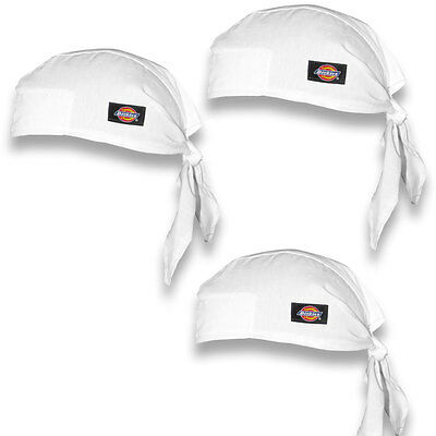 3PACK Dickies Chef Hat, Skull Cap, Kitchen Uniform, Chef Uniform DC456