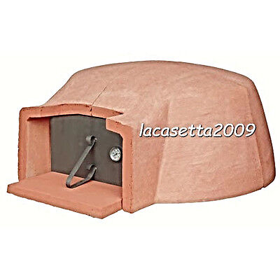 OVEN A WOOD REFRACTORY FOR 5 A 7 PIZZAS STANDARD INSIDE 110 Cm NEW