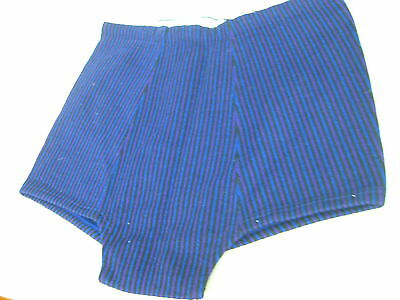 Vtg NOS MCM 1960s Imported Austrian Men's Wool Knit Nylon Striped Swim Trunks