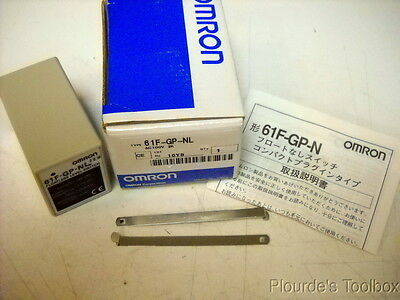 New Omron 11-Pin DPDT Floatless Level Switch 61F-GP-NL 100 VAC